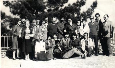 служащие в\ч 94777 на экскурсии в Кабуле (1986-1988)
